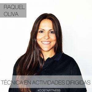 Raquel Oliva técnica en CostaFitness