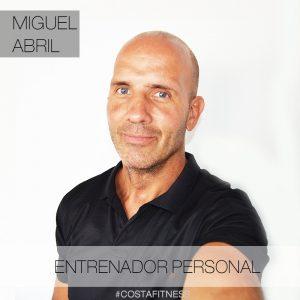 Miguel Abril Entrenador Persona de Costafitness
