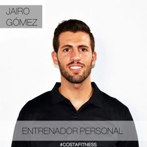 Jairo Gómez, entrenador personal de Costafitness Chiclana