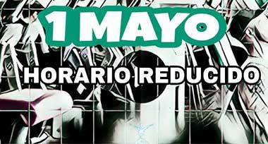 HORARIO 1 DE MAYO EN COSTAFITNESS