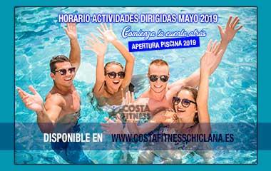 HORARIO ACTIVIDADES DIRIGIDAS MAYO2019