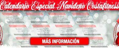 CALENDARIO ESPECIAL NAVIDEÑO COSTAFITNESS