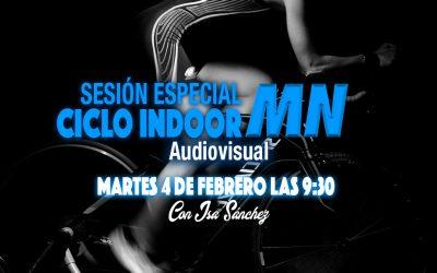 SESIÓN ESPECIAL CICLO INDOOR AUDIOVISUAL