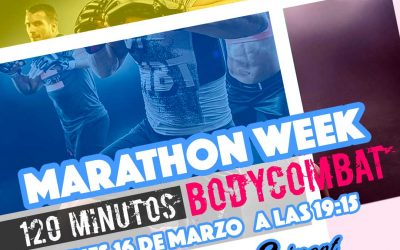 BODYCOMBAT – MARATHON WEEK EN COSTAFITNESS CHICLANA