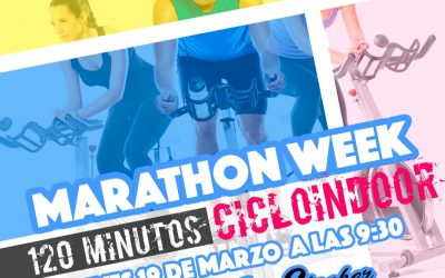 CICLO INDOOR – MARATHON WEEK EN COSTAFITNESS CHICLANA